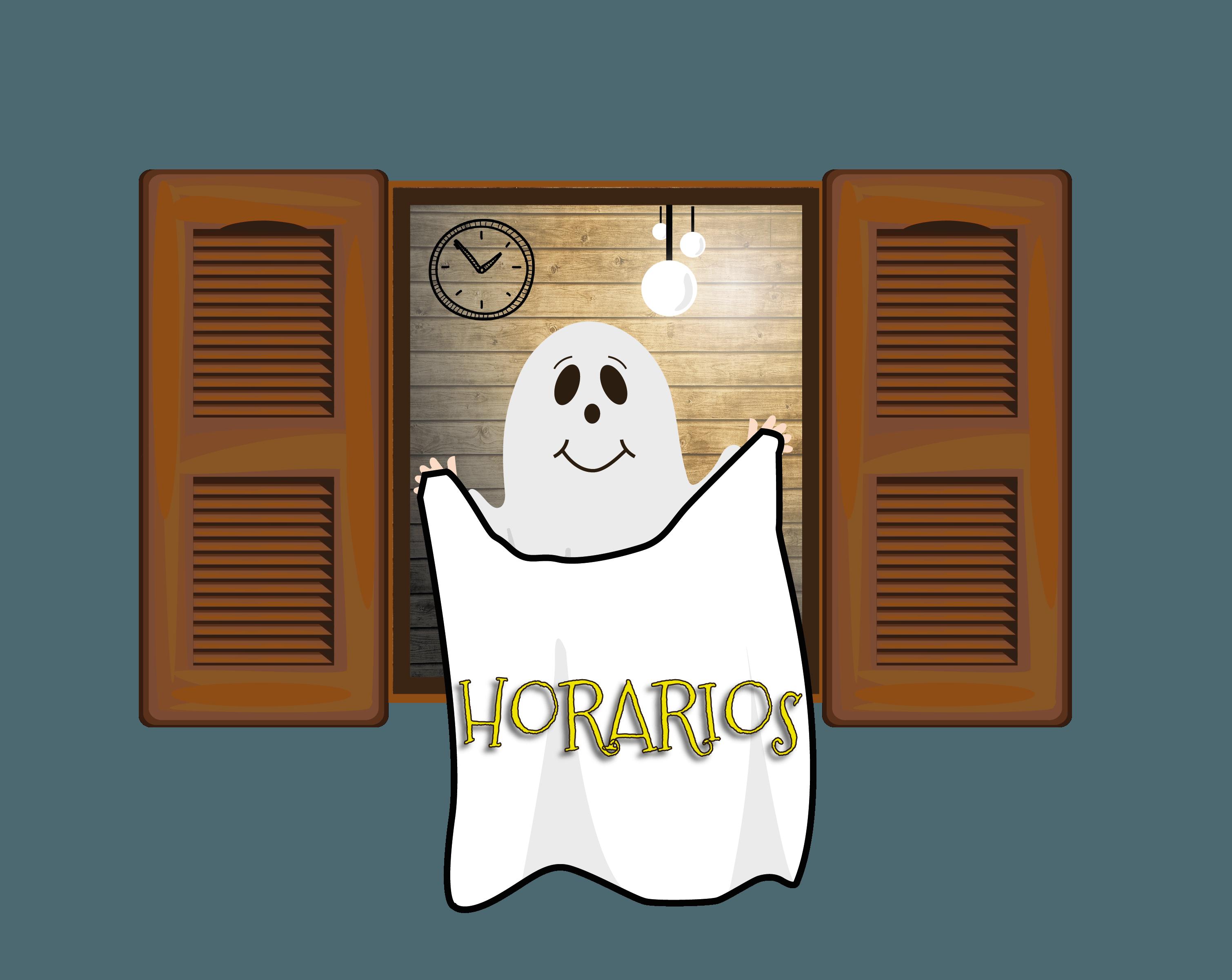 horarios la casa del fantasma