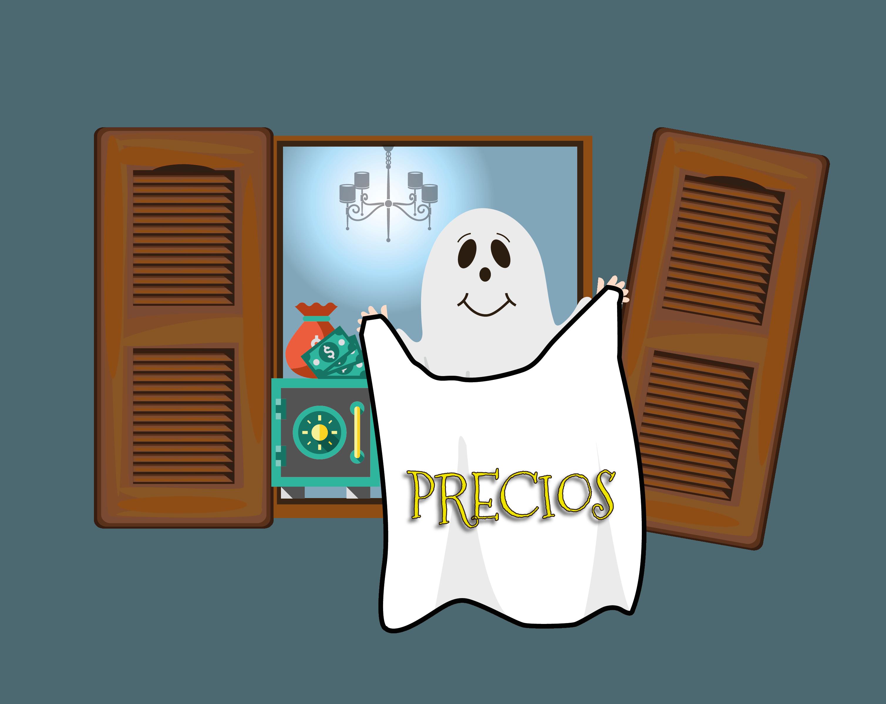 precios la casa del fantasma
